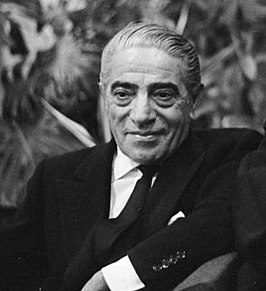 Onassis in 1968