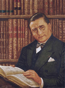 Armand Albert Rateau in his library, by Jean Dunand (1877-1942).jpg