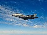 Armed Lockheed Martin F-35B Lightning II of VMFA-121 in flight over the East China Sea on 3 February 2019 (190203-M-XX000-036).JPG