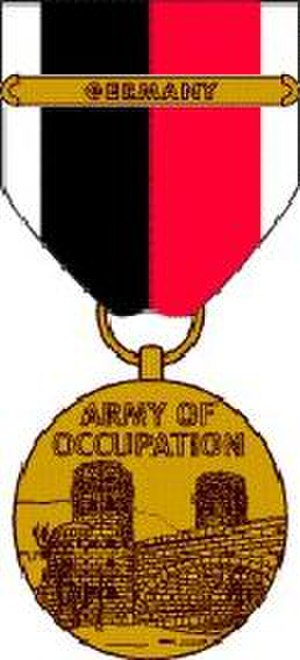 Army of Occupation Medal - Army of Occupation Medal with Germany Clasp
