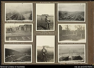 Codford - Army Training Camp at Codford, 1917