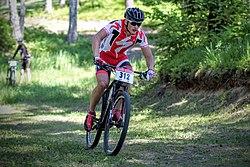Arnis Pētersons, Baldone MTB 2015.jpg
