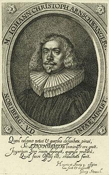 Johann Christoph Arnschwanger (Quelle: Wikimedia)