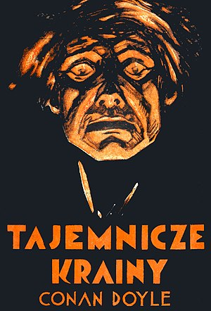 Arthur Conan Doyle - Tajemnicze krainy T1 (book cover)