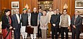 Arun Jaitley, the Minister of State for Finance and Corporate Affairs, Shri Arjun Ram Meghwal, the Minister of State for Finance.jpg