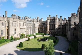 Arundel Castle - Courtyard