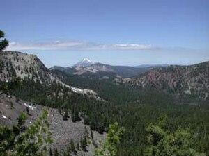 Fremont–Winema National Forest - Aspen Caldera, Mountain Lakes Wilderness, Winema NF