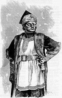 Attila from an illustration to the Poetic Edda.