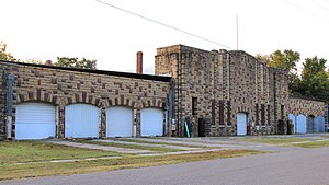 National Register of Historic Places listings in Atoka County, Oklahoma - Image: Atoka Armory 2017