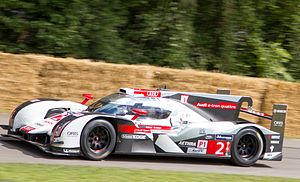 André Lotterer - Lotterer at the Goodwood Festival of Speed in 2014