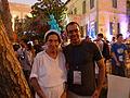 Auditorium Garden Cocktail - Wikimania 2011 P1040134.JPG