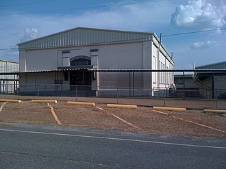 Hornbeck, Louisiana - Image: Auditorium HHS 001