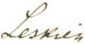 August Leskien signature.png
