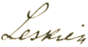 August Leskien signature.png