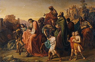 Journey of the Magi with their Retinue