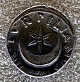 Augusto, denario di P. Petronius Turpilianus con stella a sei raggi su crescente, 19 a.C..JPG