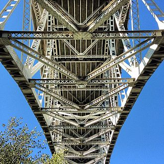 Aurora Bridge - View from beneath the bridge