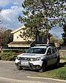 Automobile de la police municipale de Saint-Maurice-de-Beynost, Montée de la Paroche.jpg