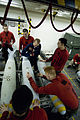 Aviation ordnancemen prepare weapons aboard USS John C. Stennis DVIDS172977.jpg
