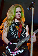 Avril Lavigne playing guitar, St. Petersburg (crop).jpg