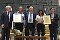 Awarding ceremony of certificates of appreciation for the contribution to integrity in public institutions in Israel, August 2017 (5956).jpg