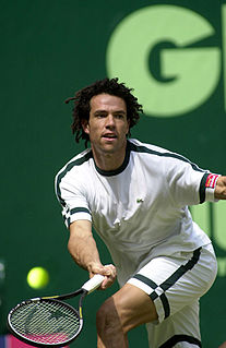 Younes El Aynaoui Moroccan tennis player