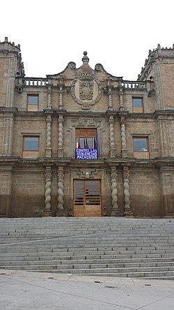Ayuntamiento de Miranda de Arga (Navarra), Casa de las Torres.jpg