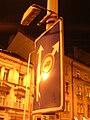 Bělehradská před Sezimovou, návěst před křižovatkou.jpg