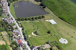 Bőszénfa Village in Southern Transdanubia, Hungary