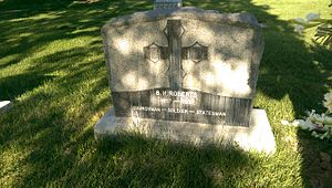 B. H. Roberts - B.H. Roberts' headstone in the Centerville City Cemetery.