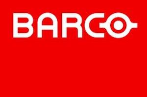 Barco (manufacturer) - Image: BARCO rgb primarylogo red