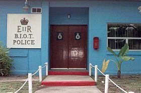Diego Garcia Police Station.