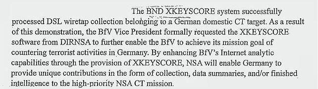 BND XKeyscore
