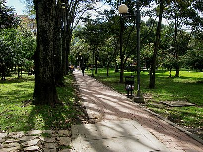 How to get to Parque El Virrey with public transit - About the place