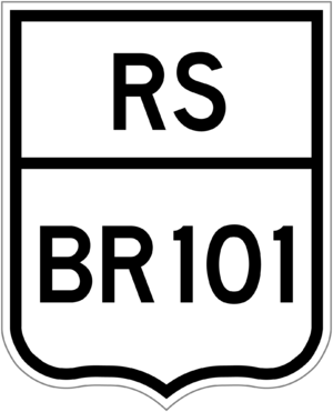 Highway shield - Image: BR 101 rs