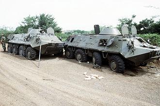 BTR-60 - BTR-60s in Grenada