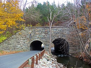 National Register of Historic Places listings in Sussex County, New Jersey - Image: Backwards Tunnel, Ogdensburg, NJ