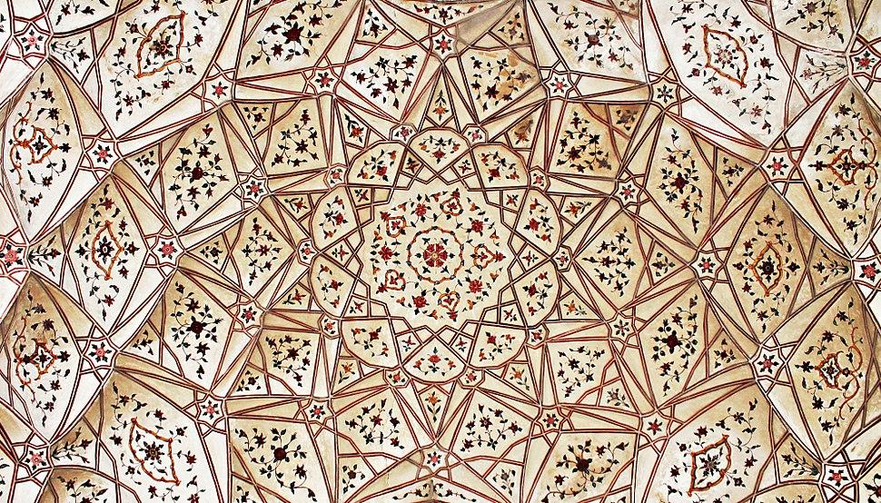 Badshahi Mosque (architecture on main building) (2)