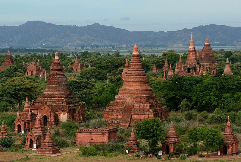Wonderful Places In Asia Bagan Myanmar