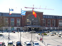 Hamburg altonakiel railway wikivisually with 25000 daily passengers and visitors to kiel hauptbahnhof the area around the station is the busiest place in kiel more than 100000 people daily use sciox Choice Image