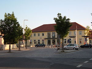 Nuremberg–Regensburg railway - Neumarkt station