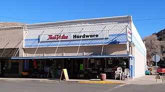 National Register of Historic Places listings in Lake County, Oregon - Image: Bailey Massingill Store 2014 Lakeview Oregon