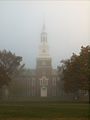 Baker Tower in Morning Fog (4538828963).jpg