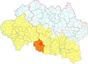 Bellenaves - Image: Balanava dins lo canton d'Ebruelh