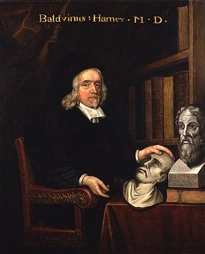 Matthew Snelling - Portrait of Baldwin Hamey the younger, 1674