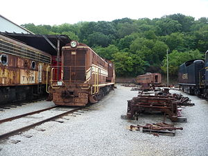 Baldwin VO-1000 - A Baldwin VO-1000 at the Tennessee Valley Railroad Museum
