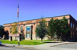 Ballard High School (Seattle, Washington) - Main south facade
