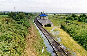 Ballycullane Halt - flooded - geograph.org.uk - 2234356.jpg