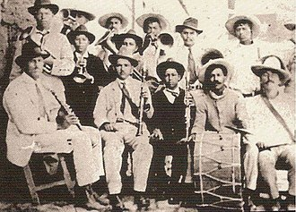 Banda (music) - Banda Sinaloense at the start of 1900