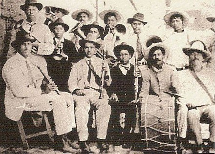 Example of a Sinaloa band in the early 1900s. Band's Sinaloa.jpg